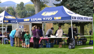 USW 9705 tent at United way Day in the Park September 2012
