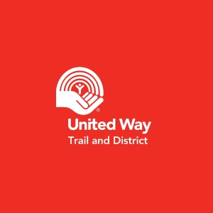 United Way white on red